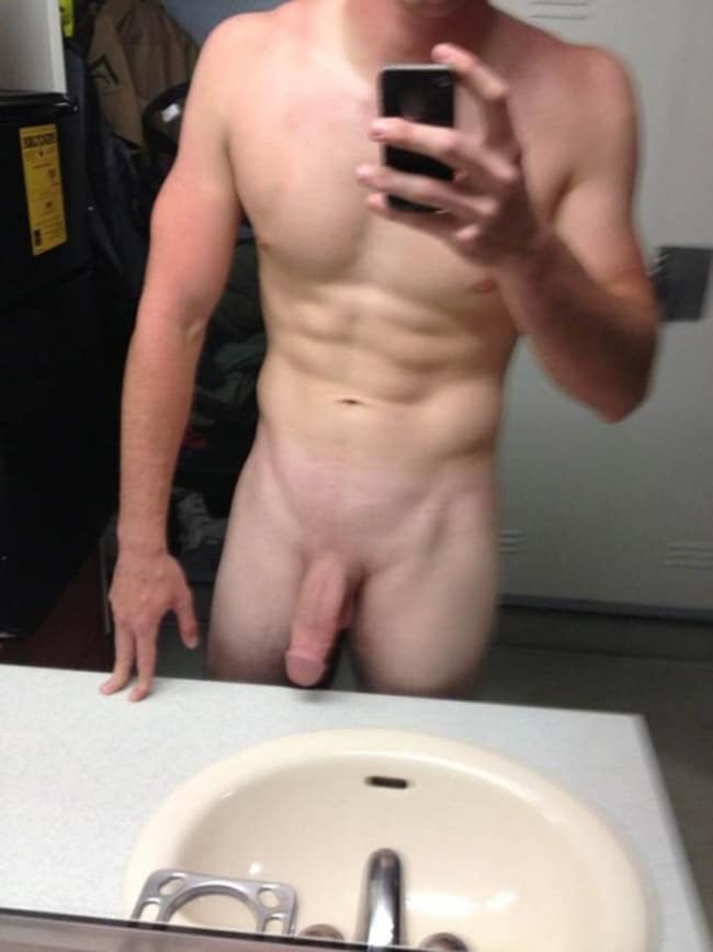 Nice Body And A Very Pretty Cut Penis - Nude Men With Boners