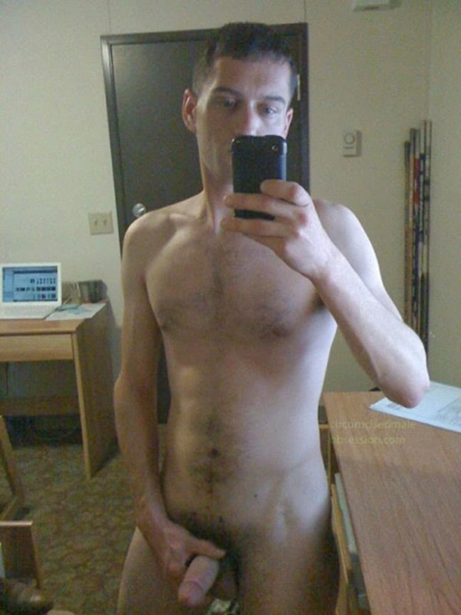 Hot Guy Jerking Off
