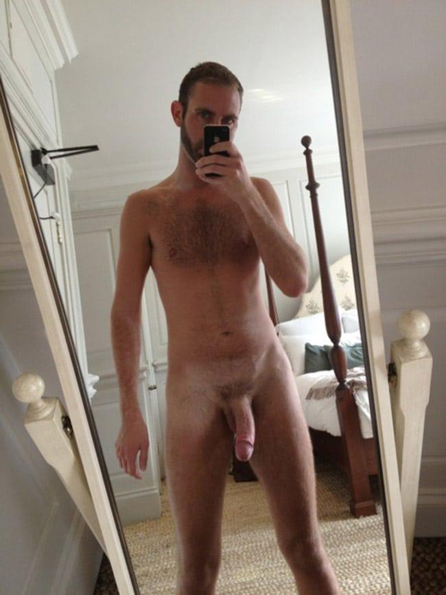 Slightly Bent Cock