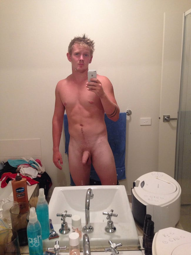 Blonde Horny Boy