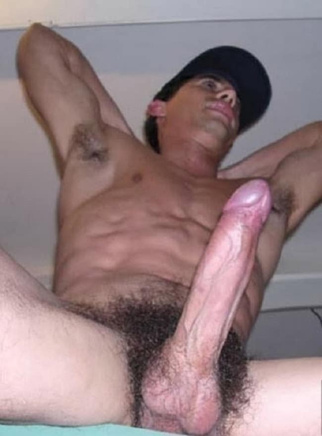 Big hairy black penis