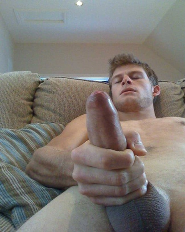 Handsome Dude Cumming
