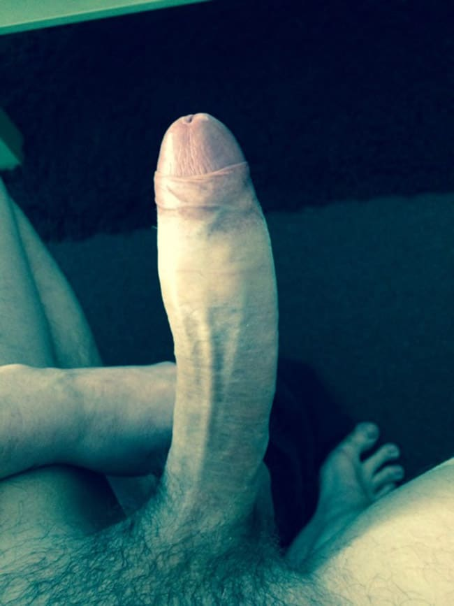 Big Erect Penis In A Very Close Up Photo - Nude Men With ...