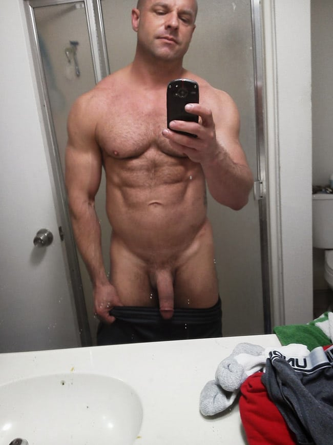 Strong Dude's Dick